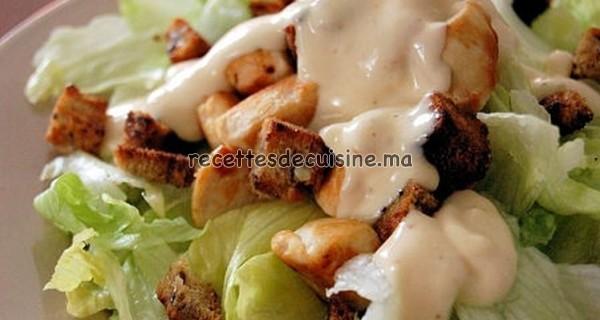 Salade César - (سلطة القيصر (السيزر