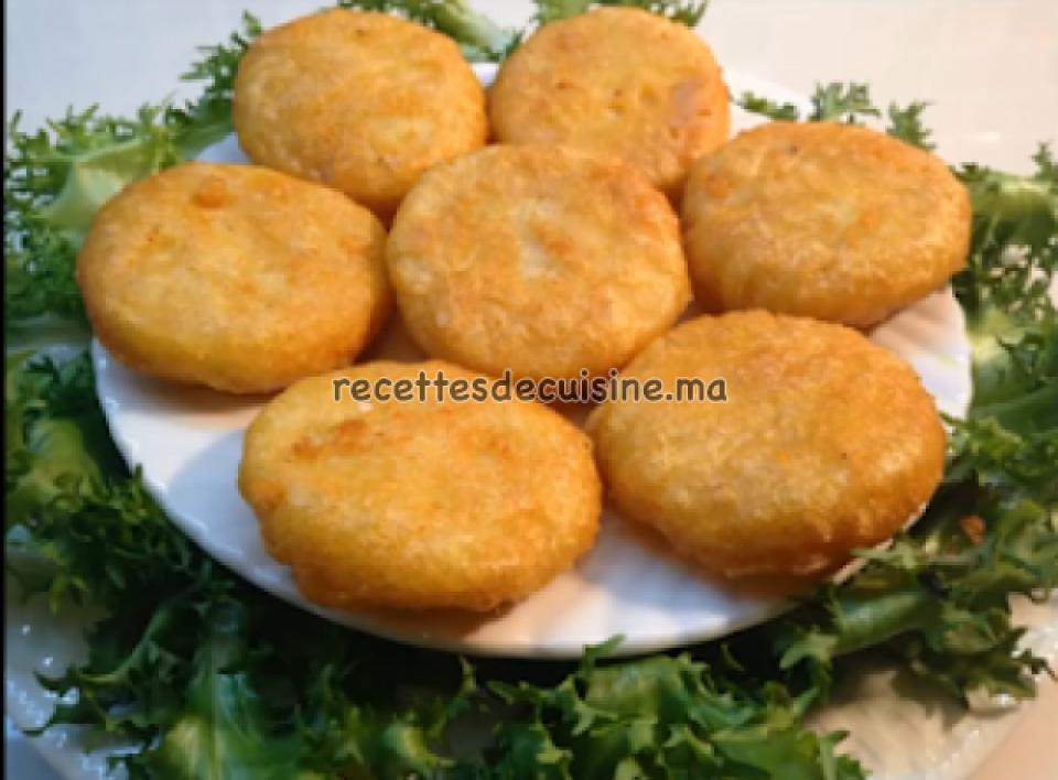 Maâkouda (galettes ou croquettes de pommes de terre) - معقودة البطاطس