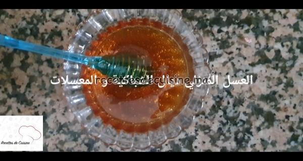 Recette de Miel de Sucre طريقة تحضير العسل المنزلي للشباكية و المعسلات