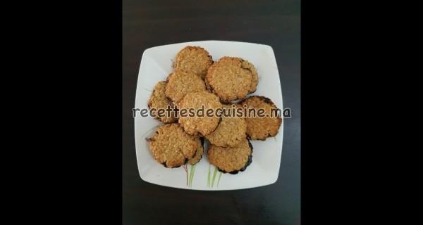 Biscuits Suédois aux flocons d'avoine البسكويت السويدي بالشوفان