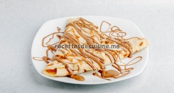 Crêpes au Chocolat ou en Confiture - كريب بالشوكولاتة