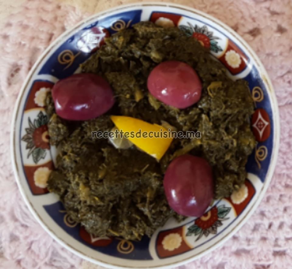 Bakoula ou Khobiza (la Mauve ou la Malva) - الخبيزة أو البقولة