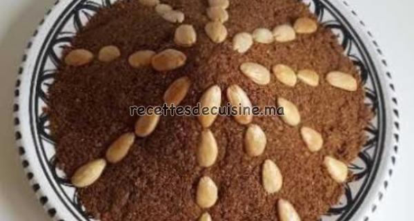 Sellou (Sfouf) Marocain -  سلو (سفوف) المغربي