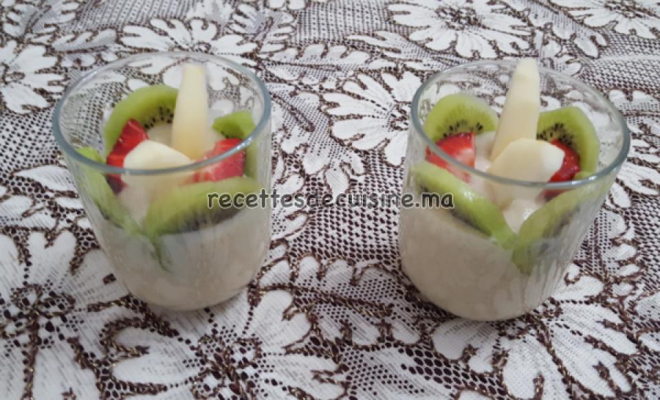 Dessert de Purée de Banane