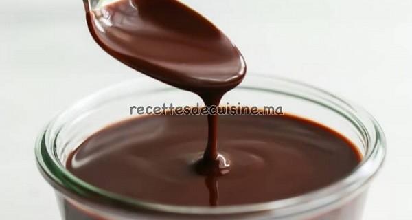 Sauce au chocolat - صلصة الشكلاطة