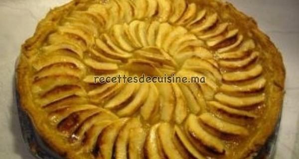 Tarte aux pommes - طورطة أو كيكة التفاح