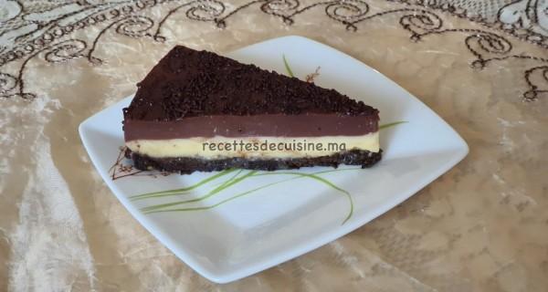 Dessert au Flan et aux Biscuits - تحلية بالفلان والبسكويت